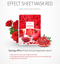 Color Synergy Effect Sheet Mask Red 20g / 10 sheets - Dotrade Express. Trusted Korea Manufacturers. Find the best Korean Brands