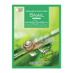 Snail Natural Mask 50 sheets