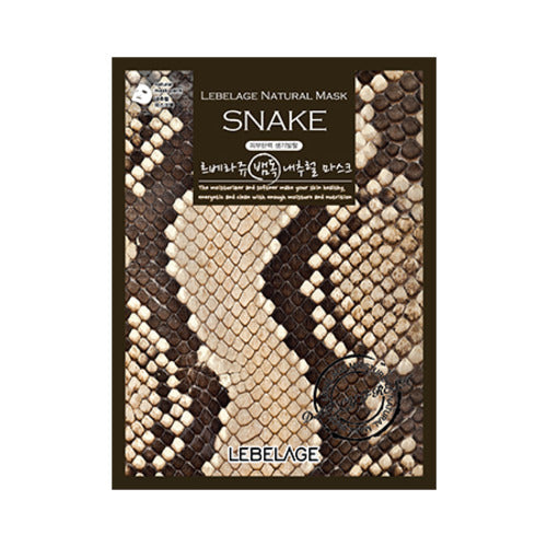 Snake Natural Mask 50 sheets