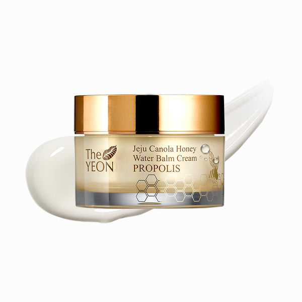 The YEON Jeju Canola Honey Water Balm Cream Propolis 50ml