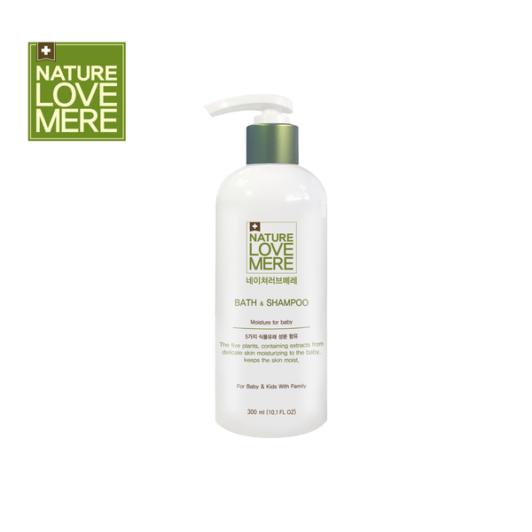 NATURE LOVE MERE Baby Bath & Shampoo (300ml)