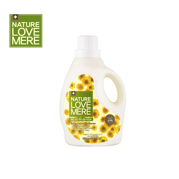 NATURE LOVE MERE Chrysanthemum Baby Fabric Softener Container Type 1,800ml