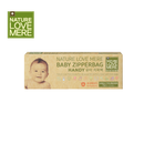 NATURE LOVE MERE Baby Handy Zipper Bag - Medium 15pcs( 9types)