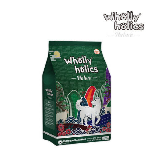 Wholly holics Nature Organic Lamb 1.6kg