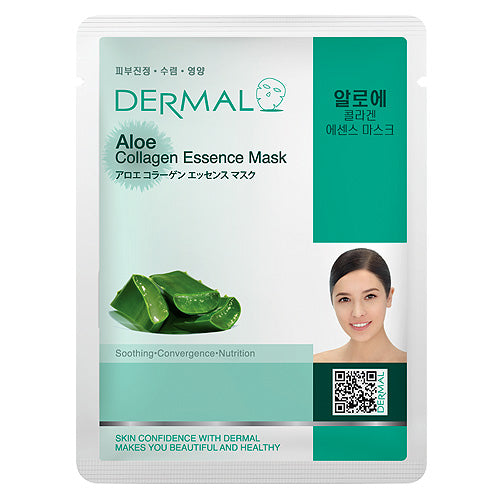 DERMAL Aloe Collagen Essence Mask 10 Pieces - Dotrade Express. Trusted Korea Manufacturers. Find the best Korean Brands
