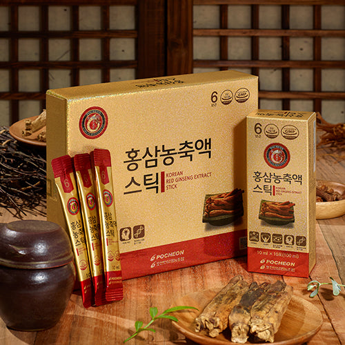 Korean Red Ginseng Extract Stick (30 x 10ml)