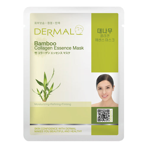 DERMAL Bamboo Collagen Essence Mask 10 Pieces - Dotrade Express. Trusted Korea Manufacturers. Find the best Korean Brands