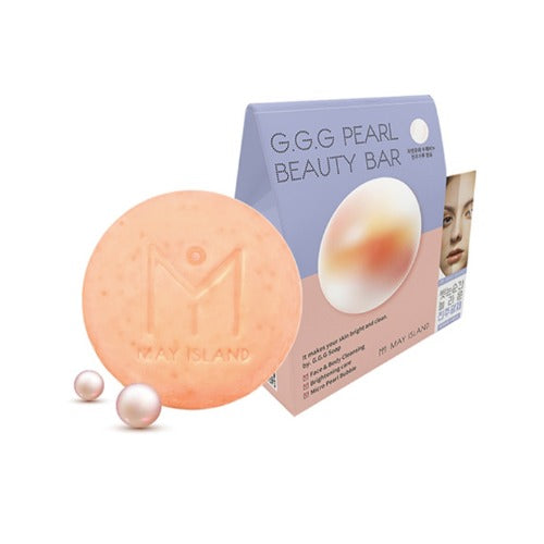 MAY ISLAND G.G.G Pearl Beauty Bar 100g