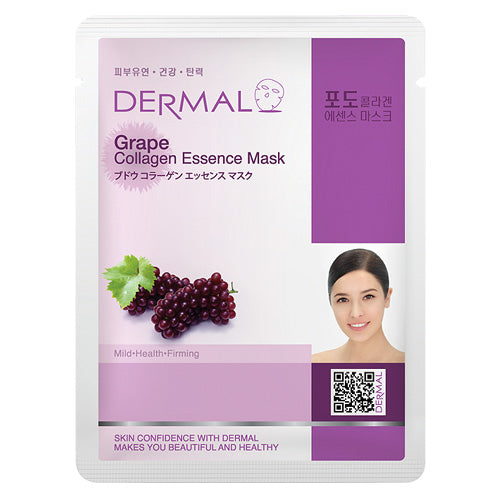 DERMAL Grape Collagen Essence Mask 10 Pieces - Dotrade Express. Trusted Korea Manufacturers. Find the best Korean Brands