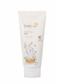 USDA ORGANIC Truly Lab Baby Head & Toe Wash 180ml