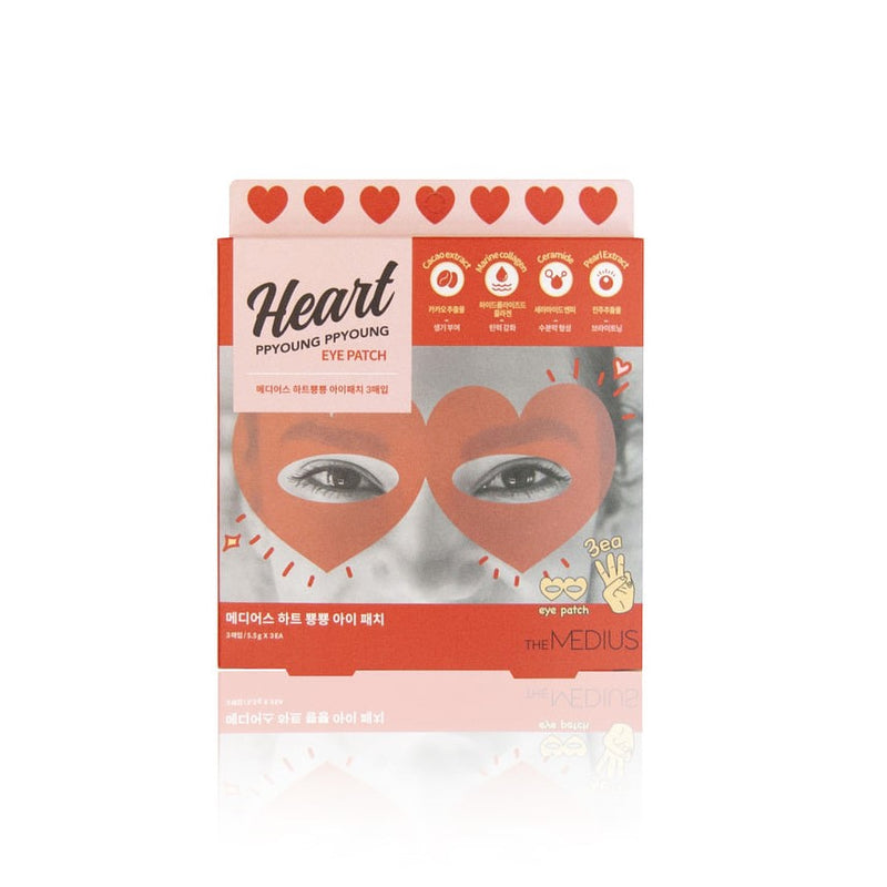 MEDIUS Heart ppyoung ppyoung eye patch (3pcs)