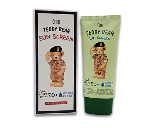 CANA Teddy Bear Sun Cream SPF50+  PA+++ Water Proof - Dotrade Express. Trusted Korea Manufacturers. Find the best Korean Brands