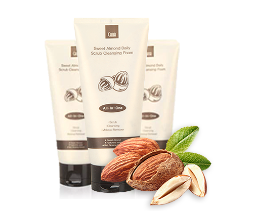 CANA Sweet Almond Daily Scrub Foam Cleanser