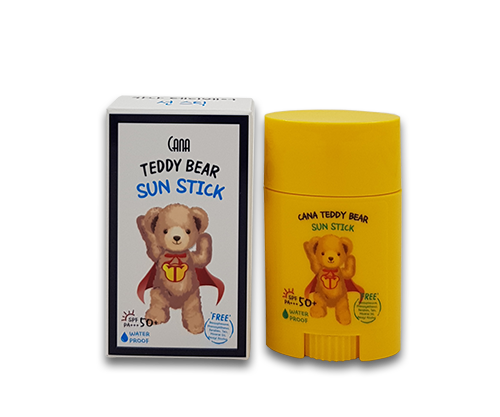 CANA Teddy Bear Sun Stick - Dotrade Express. Trusted Korea Manufacturers. Find the best Korean Brands