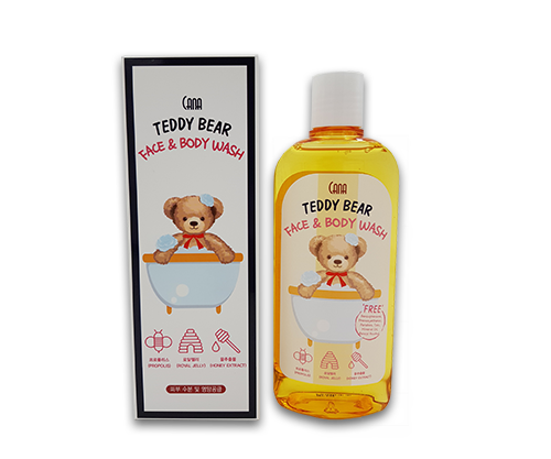 CANA Teddy Bear Face & Body Wash
