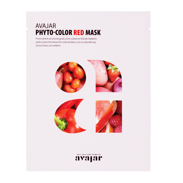 AVAJAR PHYTO-COLOR RED MASK (10EA) - Dotrade Express. Trusted Korea Manufacturers. Find the best Korean Brands