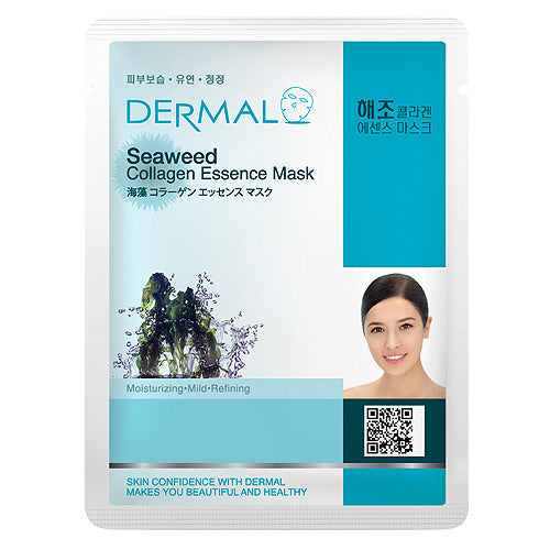 DERMAL Seaweed Collagen Essence Mask 10 Pieces
