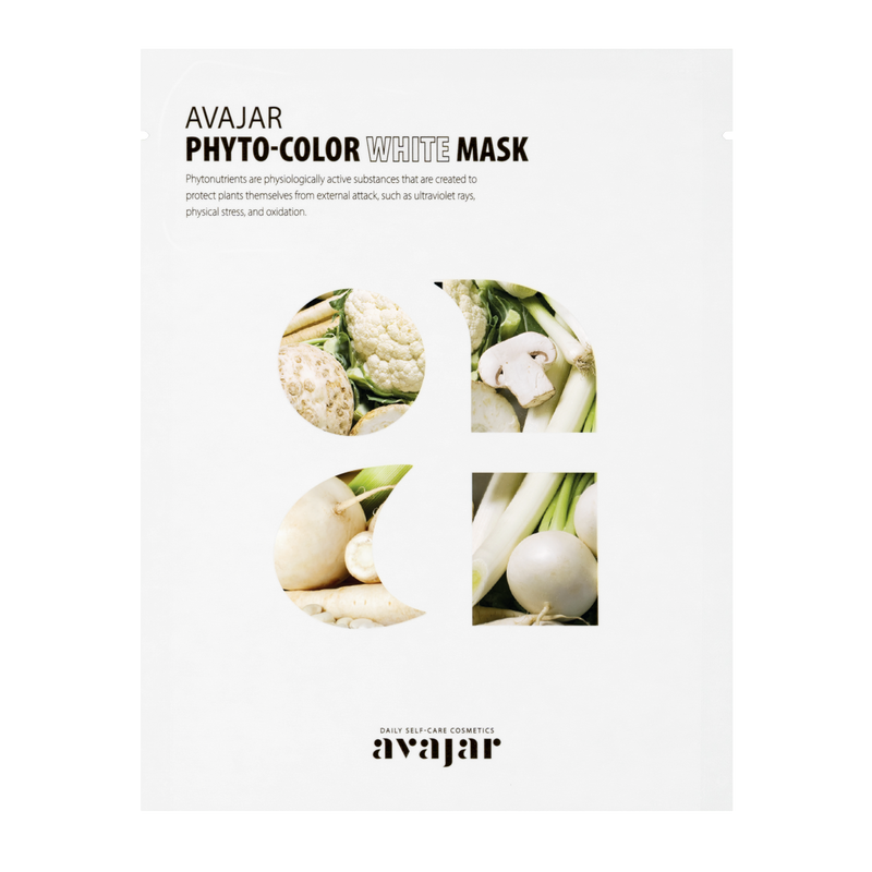 AVAJAR PHYTO-COLOR WHITE MASK (10EA) - Dotrade Express. Trusted Korea Manufacturers. Find the best Korean Brands