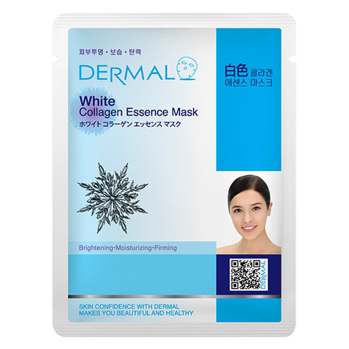 DERMAL White Collagen Essence Mask 10 Pieces