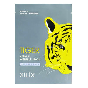 DERMAL TIGER ANIMAL WRINKLE CARE MASK 1 Box (10 sheets) 250g