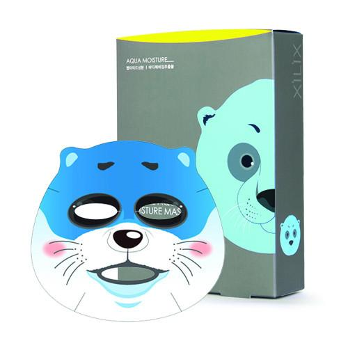 SEAL ANIMAL AQUA MOISTURE MASK 1 Box (10 sheets) 250g