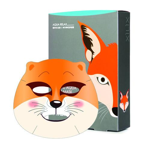DERMAL FOX ANIMAL AQUA RELAX MASK  1 Box (10 pcs) 250g - Dotrade Express. Trusted Korea Manufacturers. Find the best Korean Brands
