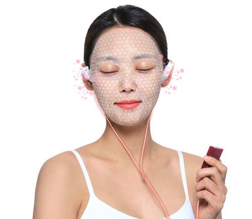 ZOYSH Home DR+ ION MASK Set (Face Mask Machine 8 Sheet + Device 1 pcs + Cable 1 pcs )
