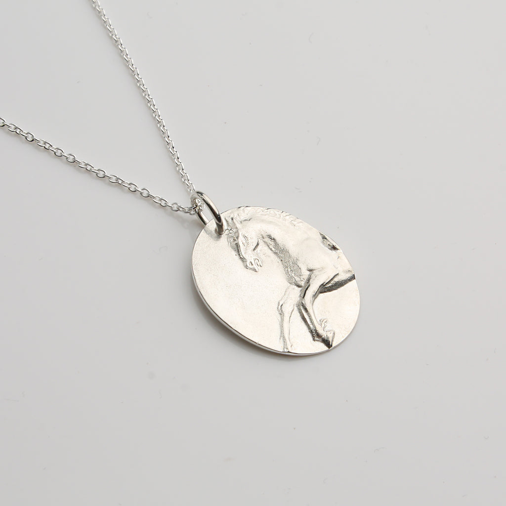 Equestrian Necklace - Silver