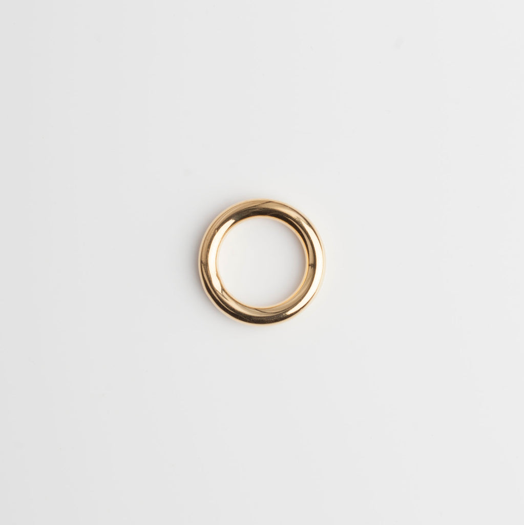 Thick Ring - Gold Vermeil