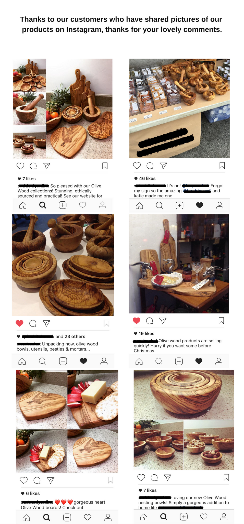MR OLIVEWOOD® customers on Instagram