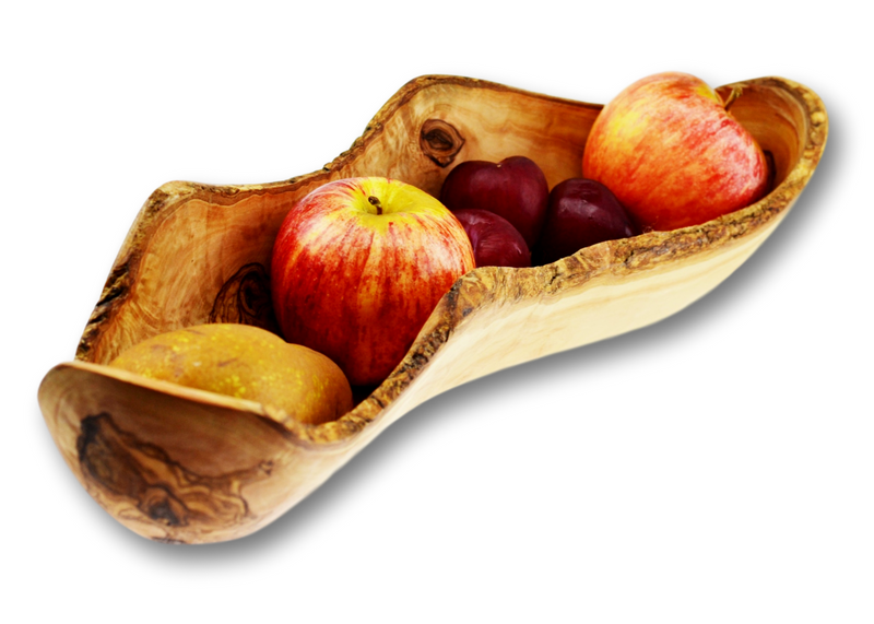 Olive Wood wooden fruit rustic dish By MR OLIVEWOOD® Wholesale Manufacturer Supplier USA canada