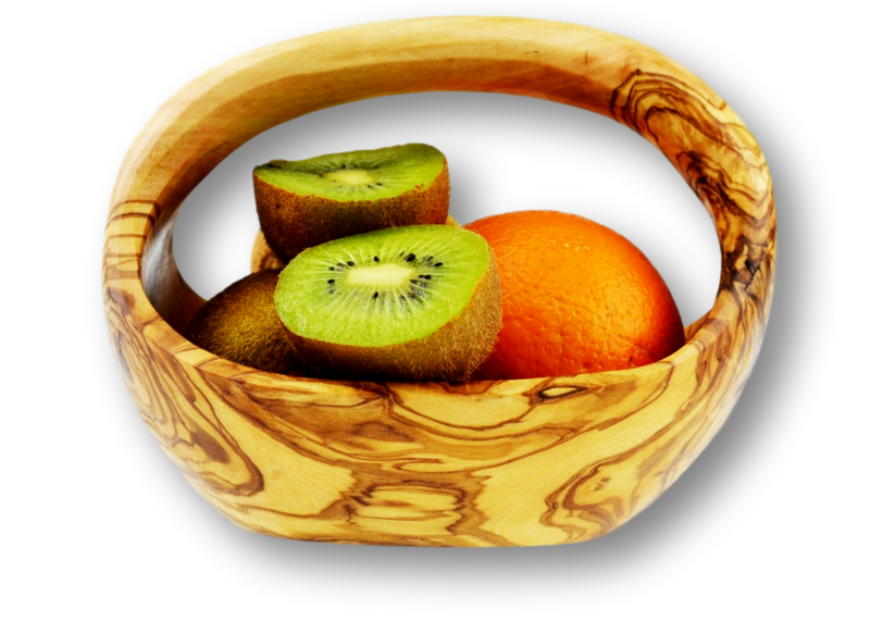 Olive Wood wooden fruit basket small By MR OLIVEWOOD® Wholesale Manufacturer Supplier USA canada
