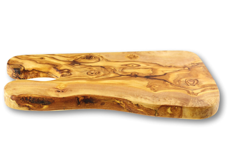 wooden olive wood chopping cutting carving cheese steak serving glass holder rustic board planche en bois d'olivier by MR OLIVEWOOD® Wholesale USA Canada