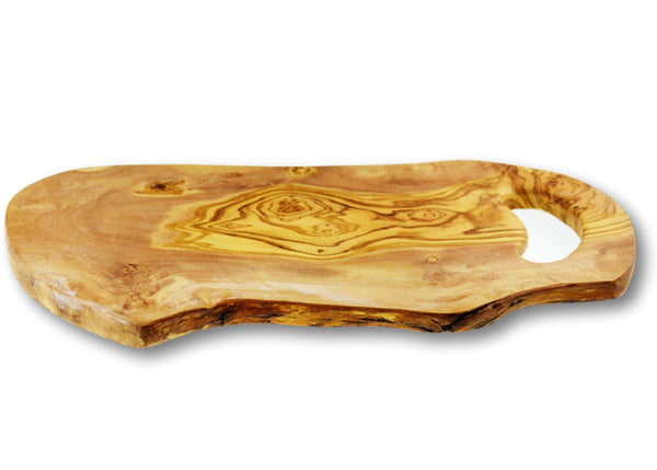 wooden olive wood rustic cutting carving cheese steak serving handle board planche en bois d'olivier by MR OLIVEWOOD® Wholesale USA Canada