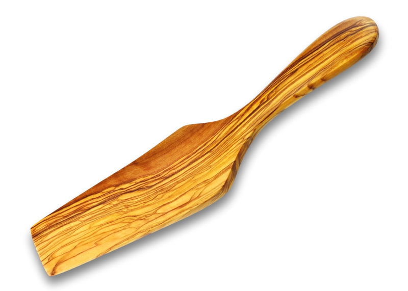 Olive Wood wooden rectangular cake pizza spatula server by MR OLIVEWOOD® wholesale usa & canada
