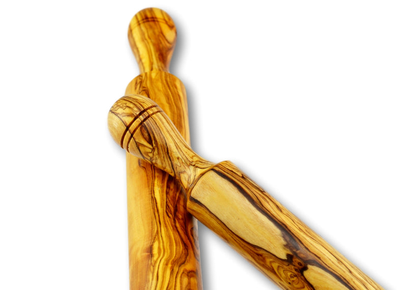 olive wood wooden rolling pin by MR OLIVEWOOD® wholesale USA & Canada