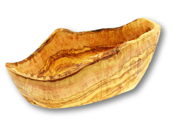 Olive Wood wooden oval rustic Salad Bowl By MR OLIVEWOOD® Wholesale Manufacturer Supplier USA canada
