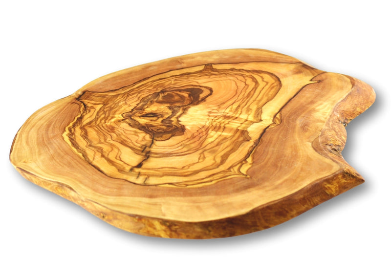 wooden olive wood chopping carving cheese steak serving rustic round board planche en bois d'olivier by MR OLIVEWOOD® Wholesale USA Canada