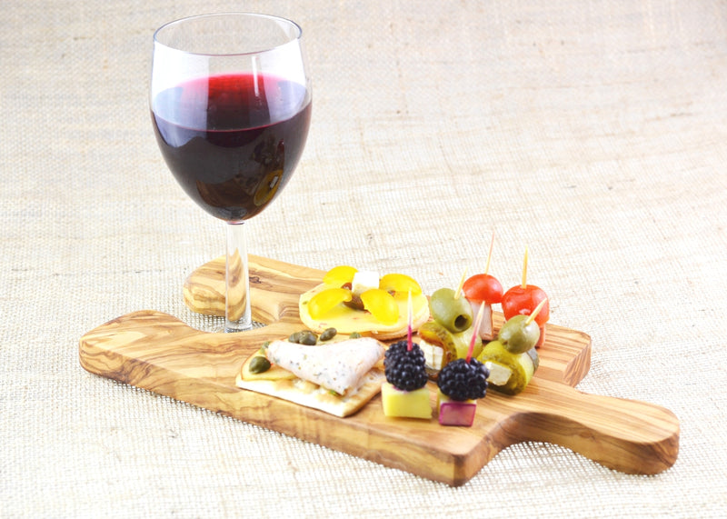 wooden olive wood chopping cutting carving cheese steak serving puzzle board with paddle glass holder serving food planche en bois d'olivier by MR OLIVEWOOD® Wholesale USA Canada