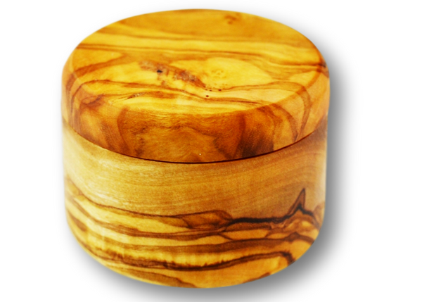 wooden olive wood round Shaped Ring Jewellery Box boîte Coffret bague bijoux en bois d'olivier by MR OLIVEWOOD® wholesale manufacturer US based supplier USA Canada