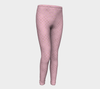 Mermaid Pink Kids Leggings