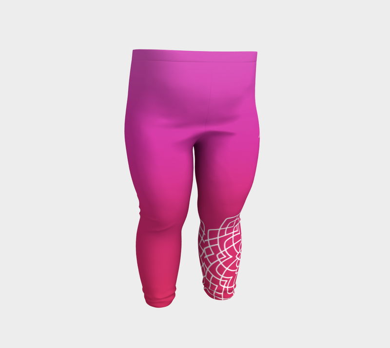 Love Pink Red Baby Leggings