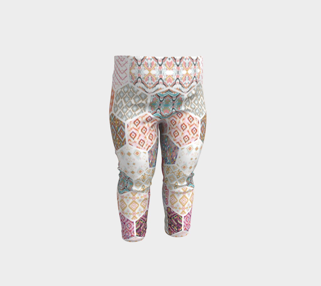 Jungle Kaleidoscope Baby Leggings