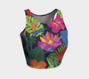 Jungle Floral Yoga Crop Top