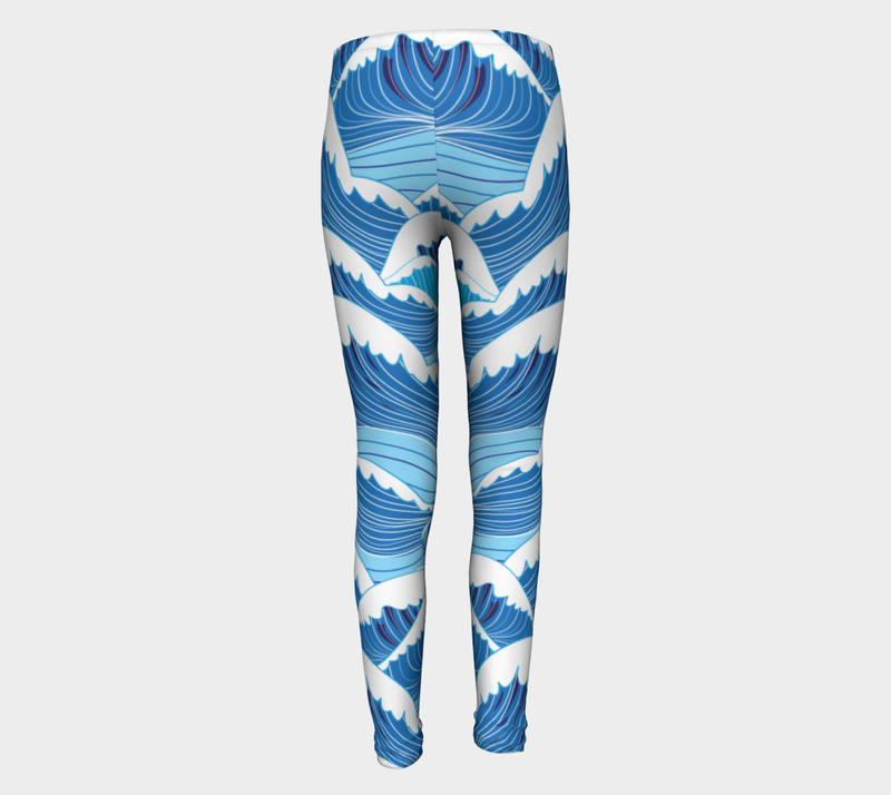 Wave Kids Leggings