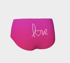 Love Pink Red Hot Yoga Pants - Aloki Athletica
