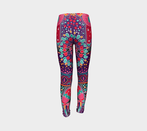 Spirit Fire Kids Leggings - Aloki Athletica