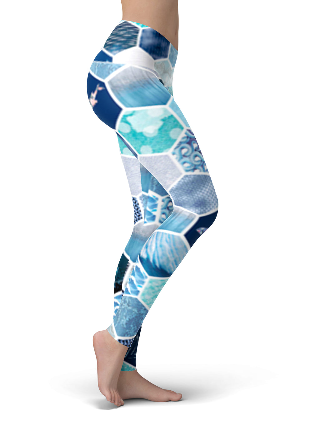Ocean Kaleidoscope Yoga Pants