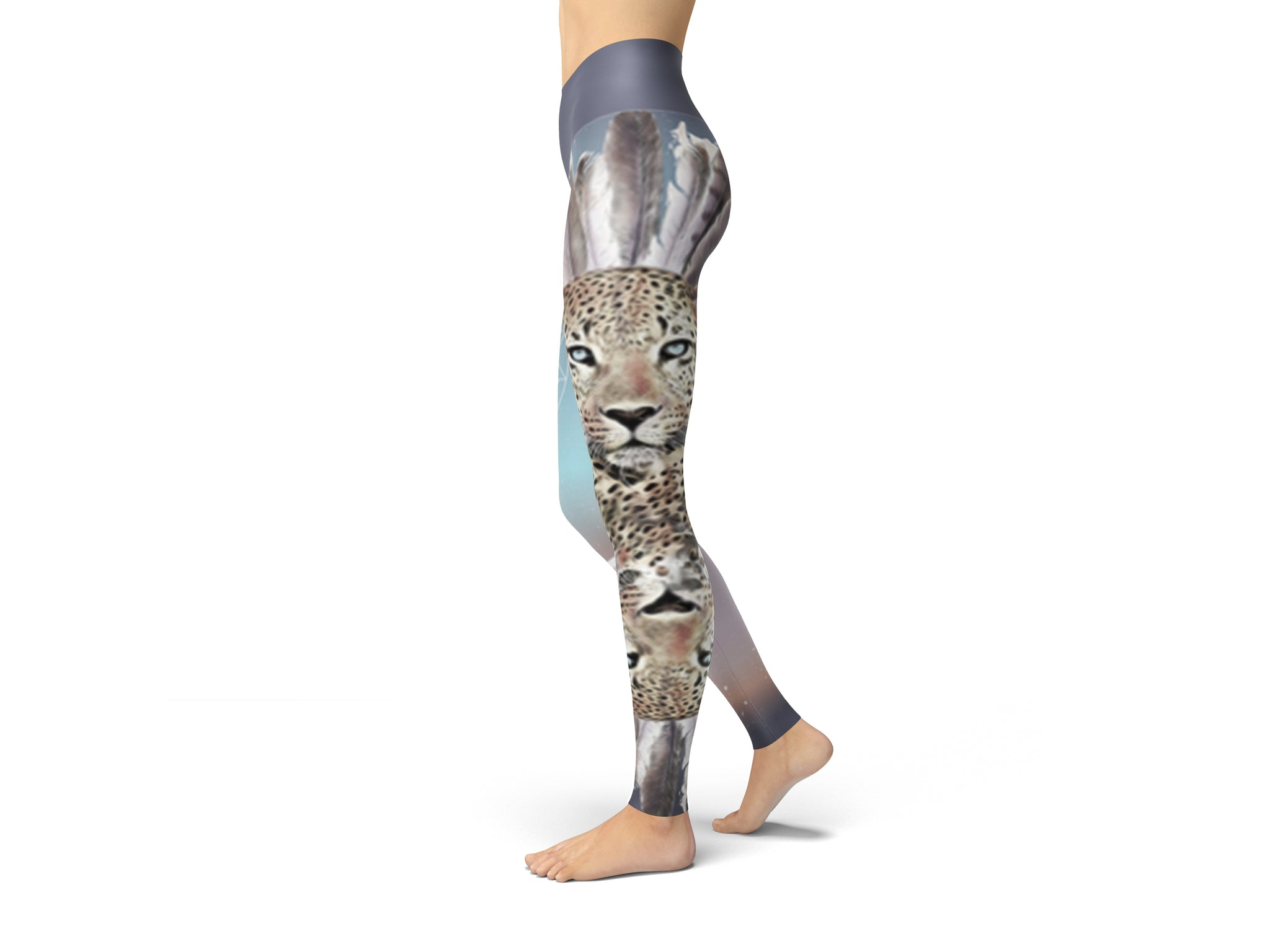 Wild Tribe LIMITED EDITION Yoga Pants - Aloki Athletica