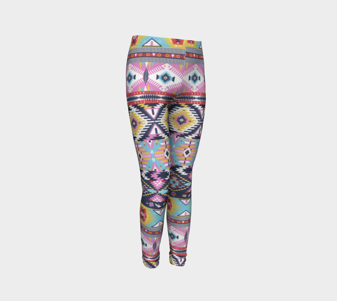 Summer Daze Kids Leggings - Aloki Athletica